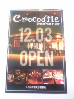 記事 レストラン&バー クロコダイル オープン!のアイキャッチ画像